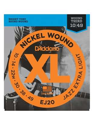 D'Addario EJ20 (Jazz Extra Light)