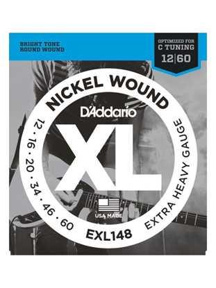 D'Addario EXL148 Drop C-tuning, Extra-Heavy
