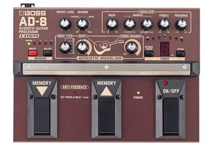 BOSS AD8 Acoustic Guitar Processor