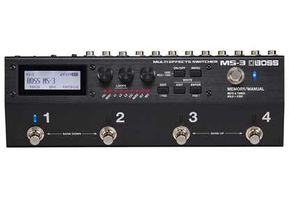 BOSS MS3 Multi Effects Switcher