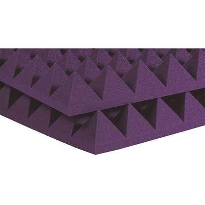"""Auralex Pyramids 4"""" Purple"""