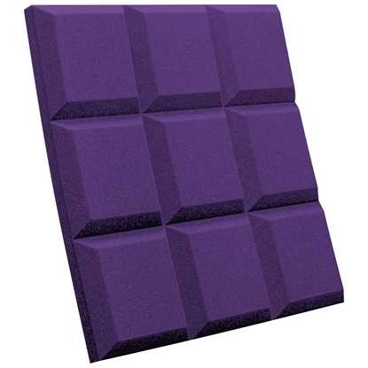 "Auralex SonoFlat Grid 2"" Purple"
