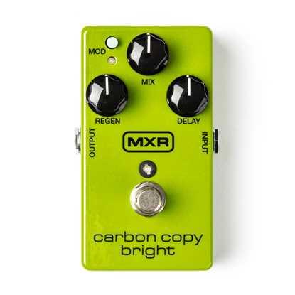 Jim Dunlop MXR® Carbon Copy® Bright Delay M269SE