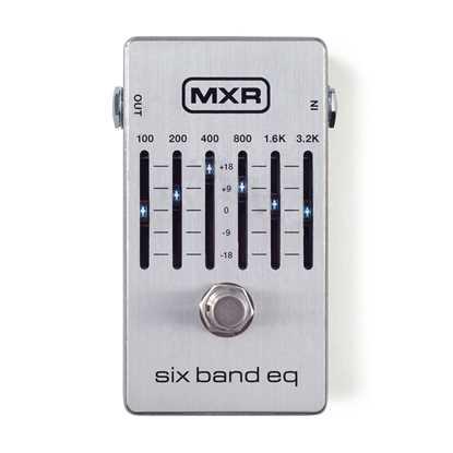 Jim Dunlop MXR® Six Band EQ M109S