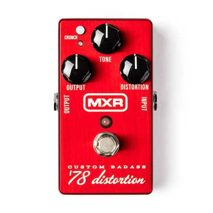 Jim Dunlop MXR® Custom Badass™ '78 Distortion M78