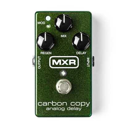 Jim Dunlop MXR® Carbon Copy® Analog Delay M169