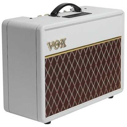 VOX AC10 Custom White Bronco