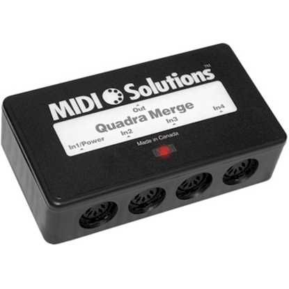 MIDI Solutions Quadra Merge