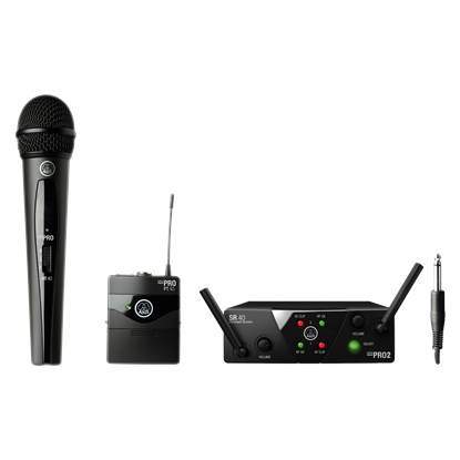 Bild på AKG  WMS40 Mini Dual Mixed Set