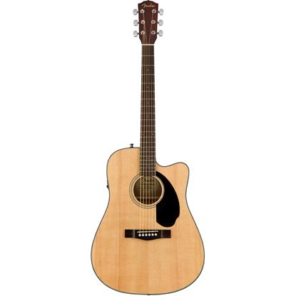 Bild på Fender CD-60SCE Natural Akustisk Stålsträngad Gitarr