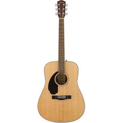 Bild på Fender CD-60S Left Handed Natural Akustisk Stålsträngad Gitarr