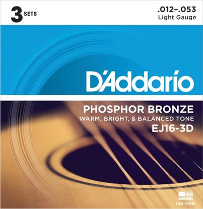 Bild på D'Addario EJ16-3D