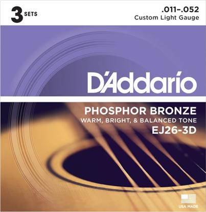 Bild på D'Addario EJ26-3D