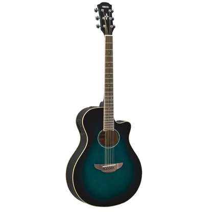 Bild på Yamaha APX600 Oriental Blue Burst Akustisk Stålsträngad Gitarr