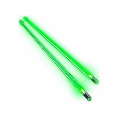 Firestix Grön Självlysande trumpinnar