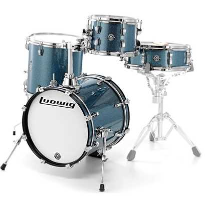 Ludwig Breakbeats by Questlove - Azure Sparkle Shellpack trummor trumset