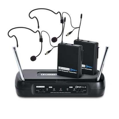 LD Systems ECO 2X2 BPH 1 trådlös system headset