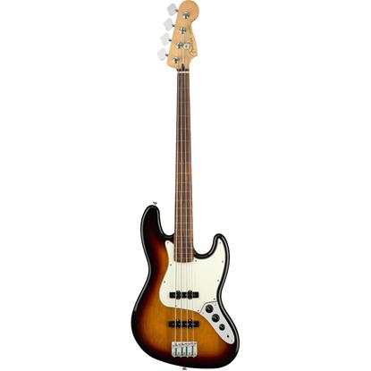 Bild på Fender Player Jazz Bass® Fretless Pau Ferro Fingerboard 3-Color Sunburst Elbas