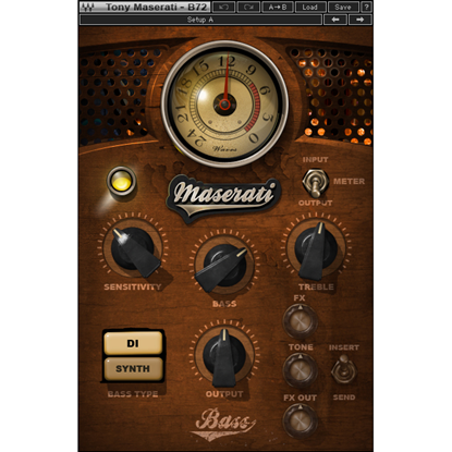Bild på Waves Maserati B72 Bass Phattener