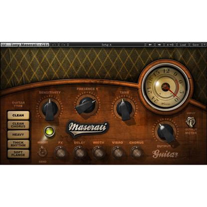 Bild på Waves Maserati GTi Guitar