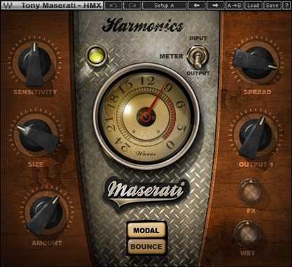 Bild på Waves Maserati HMX Harmonic Generator