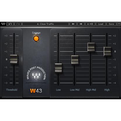 Bild på Waves W43 Noise Reduction Plugin