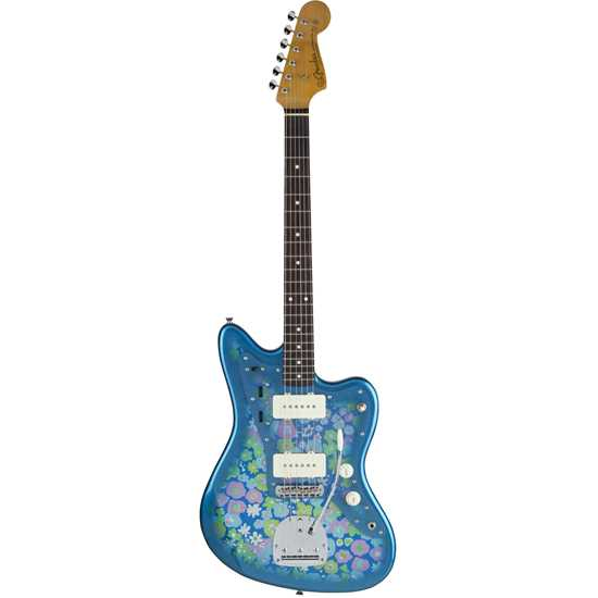 Fender Made In Japan Traditional 60's Jazzmaster Blue Flower
