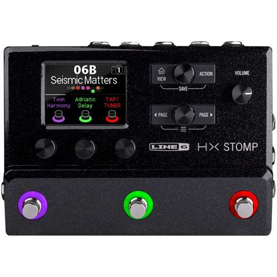 Line 6 HX Stomp effektpedal multieffekt