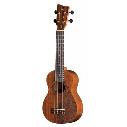 VGS KT-SO-INCA Manoa Kaleo Tattoo Sopran ukulele