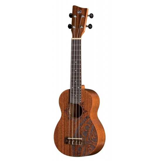 VGS KT-SO-INCA Manoa Kaleo Tattoo Sopran ukulele