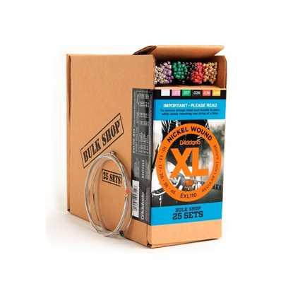 D'Addario Bulk Pack EXL110-B25