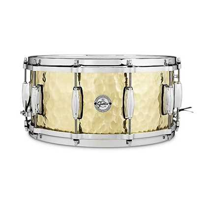 "Gretsch Hammered Brass 14x6.5"" Virvel"