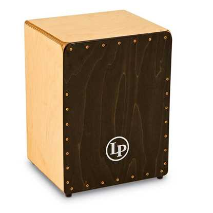 Latin Percussion Cajon Widebody Black