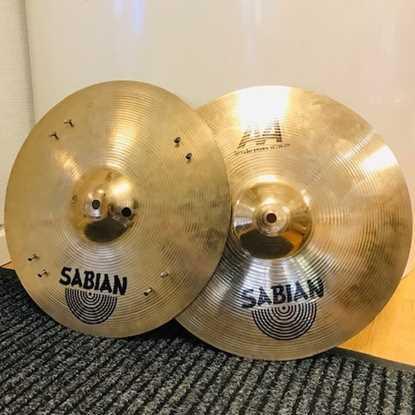 """Sabian Hihat 14"""" AA Sizzle Hats Cymbal"""