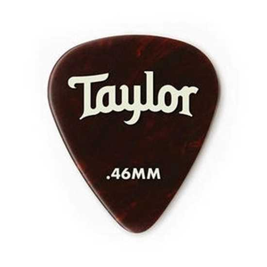 Taylor 351 Shape Premium Celluloid Tortoise Shell 0.46mm - 12 Pack plektrum
