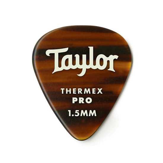 Taylor 351 Shape Premium Thermex Pro Tortoise Shell 1.5mm - 6 Pack plektrum