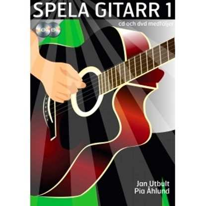 Spela gitarr 1 Inkl Cd och Dvd