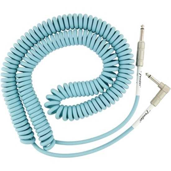 Fender Original Series Coil Cable Daphne Blue instrumentkabel kabel