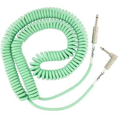 Fender Original Series Coil Cable Surf Green instrumentkabel kabel