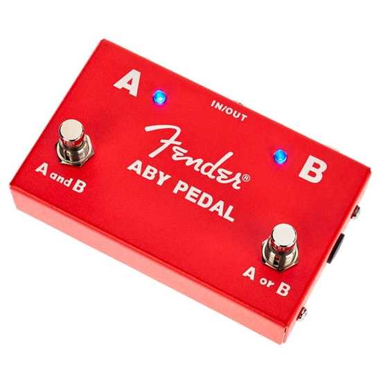 Fender 2 Footswitch ABY Pedal