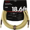 Fender Deluxe Series Instrument Cable 18,6' Tweed