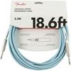 Fender Original Series Instrument Cable 18,6' Daphne Blue