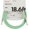 Fender Original Series Instrument Cable 18,6' Surf Green