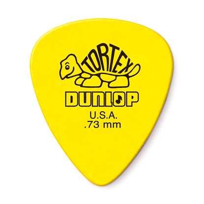 Dunlop Tortex Standard 0.73mm - 12 Pack Plektrum