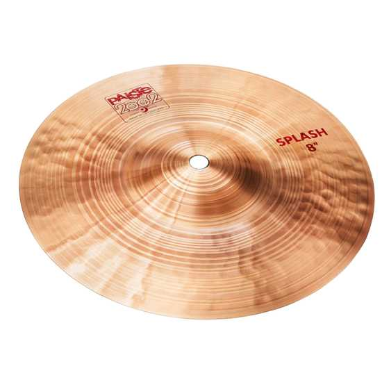 "Paiste 2002 8"" Splash Cymbal"