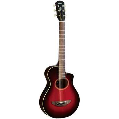 Yamaha APXT2 Dark Red Burst Rosewood Fingerboard Akustisk Stålsträngad Gitarr