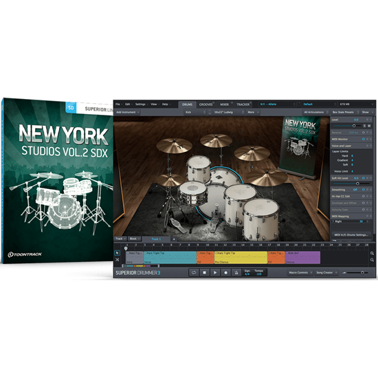 Toontrack SDX New York Studios Vol. 2