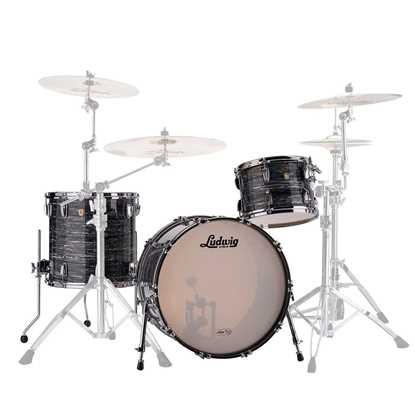 "Ludwig Classic Maple FAB 22"" Shellpack USA Trumset"