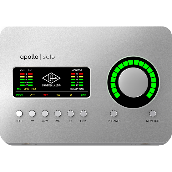 Universal Audio Apollo Solo Thunderbolt