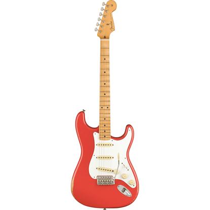 Fender Vintera Road Worn '50s Stratocaster Maple Fingerboard Fiesta Red